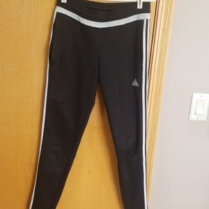 Women's Adidas black fitted pants ... Small